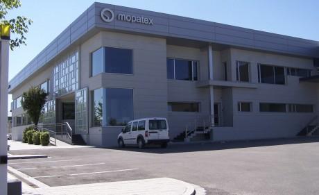fachada oficina nave industrial